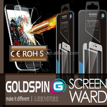 GOLDSPIN Full Size Tempered Glass Screen Film For Sony Z3 Compact