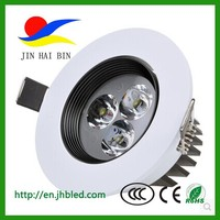 120 degree 3*1W high power led inside cabinet lighting made in china
