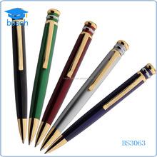 Manufacturers fat import stainless steel metal pen ballpoint pen ball pen