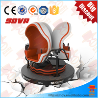 Quick return and Low invest high technology 9D egg VR dynamic 360 degree rotation cinema on sale