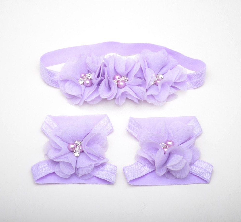 Hair Accessory Making Supplies Baby Foot Accessories With Hair Band