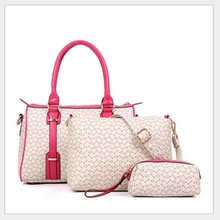 D81004F 2015 fashion three pieces handbags