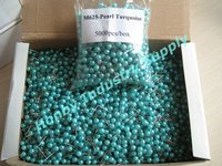 Plastic Pearlized Turquoise Color Ball Head Pin for DIY Arts Making