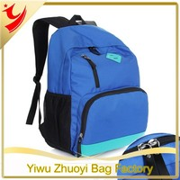 2015New Design Fashion Nylon Rucksack Backpack Bags, Travel Backpack with Drawing Printing
