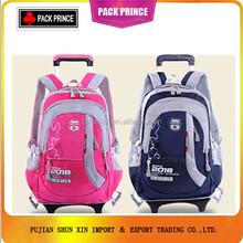 Wholesale kids school bag with wheels