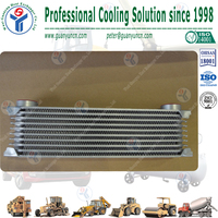 Aluminum stack layer TH248 10rows race car engine oil cooler