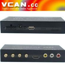 Útil Un mini coche Seg ISDB-T receptor de la TV cuatro sintonizador de la tarjeta B-cas completa para Japón FM receptor hd tv st