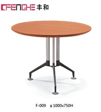 wooden tea table design, round conference table, coffee table