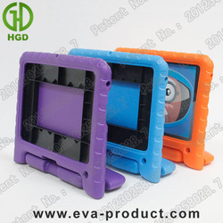 "Portable EVA Shockproof kids 7"" tablet cover with rotatable stand handle"