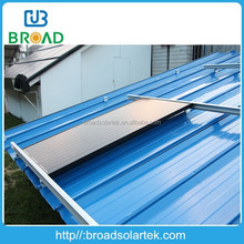 Solar water heater aluminum roof panel