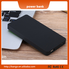 Rubber finished 8000 mobile charger gifts power bank