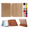Auto sleep Slim PU Leather Smart Cover Stand Case Ultra-thin Multiple Shape tablet case for iPad case