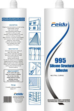 995 Structural silicone sealant in neutral curing used for large building