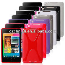 2013 X design tablet soft TPU case for Google nexus 7 2 case