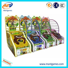 Qingfeng newest basketball shooting game machine coin operated basketball shoot machine
