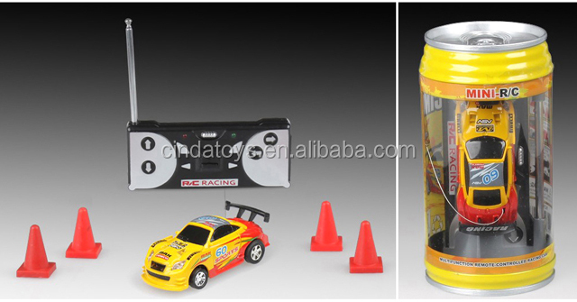Coke Can Car Mini RC Car Model Racing Remoto Control RC Car