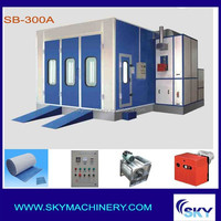SB300A, Water-borne Paint Spray Booth Auto Paint Spray Booths/painting shop