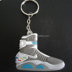 Promotional cute running shoe keychain
