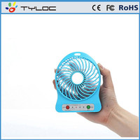 2015 New Arrival Colorful Summer Small Table Mini Usb Cooling Fan