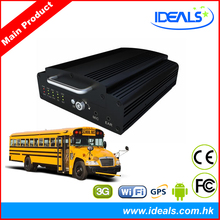 School Bus Mobile DVR, 3G WiFi GPS Mobile DVR for School Bus, SD Card Video Recorder