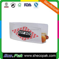 Hot sale hot dog paper bag, aluminum foil paper bag for hot dog