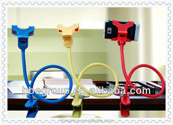 2in1 Universal Car Holder Stand + Lazy Bed Phone Holder Selfie Mount for Iphone 4s 5 5C 5S Samsung Galaxy S4 S3 Note 2 3