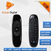 2.4g wireless air mouse, 6 axis gyroscope air mouse, air mouse for android tv box