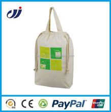 Nylon custom logo factory price shopping tote cotton bag