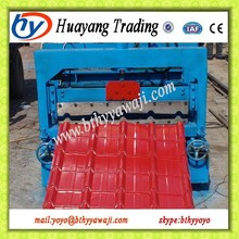Authentication Glazed Corrugated Metal Roof Sheet Roll Forming Machine