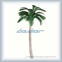lighted palm trees,model palm tree,miniature architectural scale trees,scale model tree,building model tree