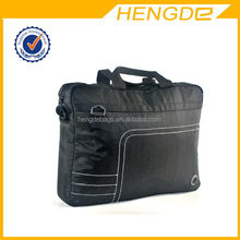 Top quality hot selling black polyester trolley laptop bag