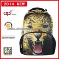 Venta de diseño de moda mochilas escolares barato caliente de encargo
