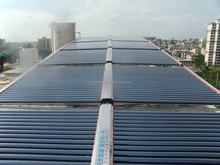 Guangzhou CE ISO solar water heater hotel collector big factory sale