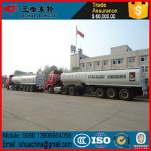 3 Axle tank semi trailer acid in transportation
