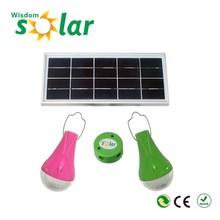 2015 Popular China Factory Price Solar 5W DC Lighting Kit