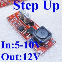 dc-dc power ste up boost converter circuit 5v 6v 9v to 12v 1000ma power module dc voltage regulator