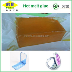 2015 HJ high quality Top sales Hot Melt Adhesive for GLASS