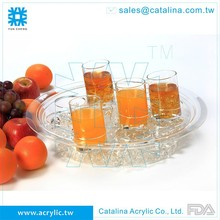 Taiwan Manufacturer High Quality Acrylic Barware Serving Tray/Restaurant Supplies/Beverage Equipment/Houseware Iced Drink Cooler