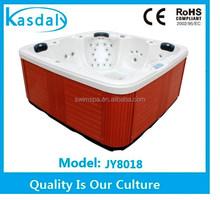 acrylic enclosure european niche market affordable low price hot tub