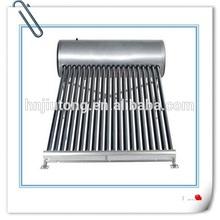 Galvanizado acero calentador solar de agua tipo ampliamente utilizado géiser solar