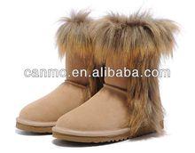 las mujeres auténticos australia invierno botas botas de piel