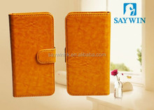 Flip three holder mobile phone cases for SAMSUNG Galaxy s6