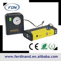 16800mah lithium ion battery mini usb car charger jump starter kit car start kits car power pack