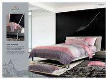 modern stripe design 100% tencel printed bedding set made in china