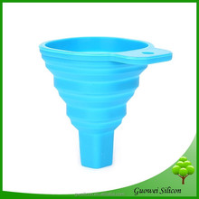 Portable Silicone funnel FDA approved,Silicone Champagne funner Pourer