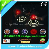 Liwin brand 10% off price 12v 3w 5w lighted car emblem for Fuga car 4x4 accessory