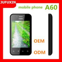 A60 3.5inch touch screen GSM 900/1800/FM/GPRS /Bluetooth/ multi language/TF card/dual sim card mobile phone prices in dubai