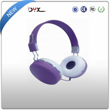 2015 high quality and reasonable price stereo headphones with comfortable and big ear cups
