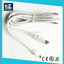 2015 new products in china usb cable color code yellow
