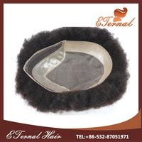 7*9'' 6'' human hair skin base with lace men toupee hair wigs for black men